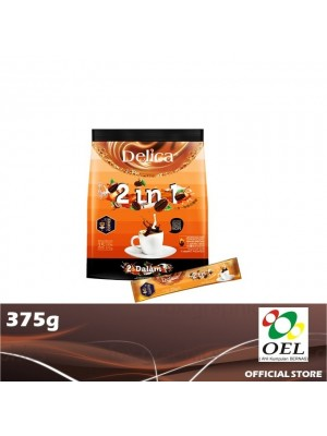 Delica 2 in 1 Ipoh White Coffee 375g