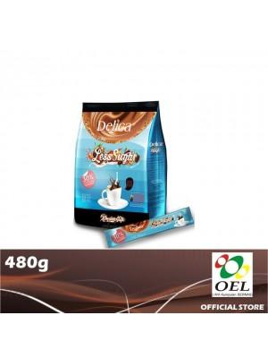 Delica White Coffee Rich Less Sugar 480g
