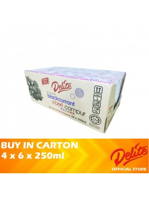 Delite Asian Drink Blackcurrant & Mixed Berries 4 x 6 x 250ml