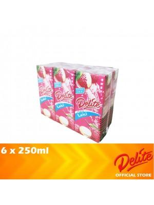 Delite Asian Drink Lychee 6 x 250ml