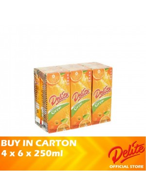 Delite Asian Drink Orange 4 x 6 x 250ml