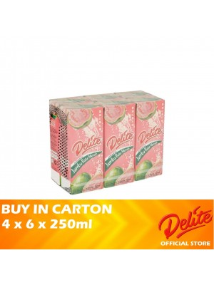 Delite Asian Drink Pink Guava 4 x 6 x 250ml [LCD]