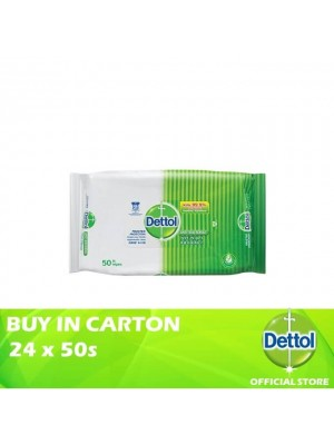 Dettol Anti-Bacterial Wet Wipes 24 x 50s