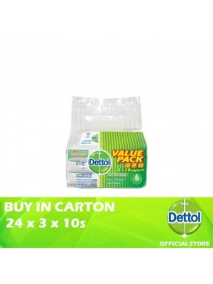 Dettol Anti-Bacterial Wet Wipes Value Pack 24 x 3 x 10s
