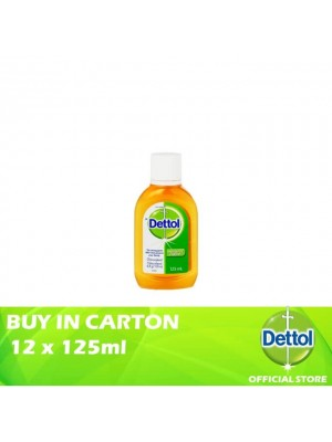 Dettol Antiseptic Liquid 12 x 125ml