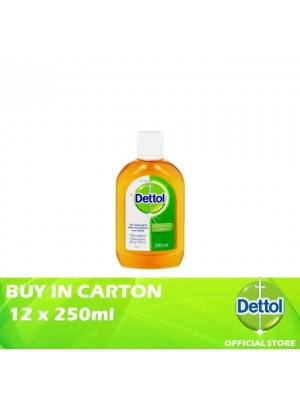 Dettol Antiseptic Liquid 12 x 250ml