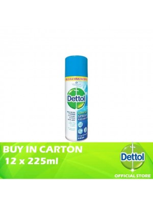Dettol Disinfectant Spray Crisp Breeze 12 x 225ml