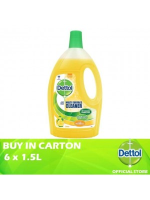 Dettol Multi Action Cleaner Citrus 6 x 2.5L