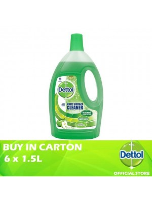 Dettol Multi Action Cleaner Green Apple 6 x 2.5L