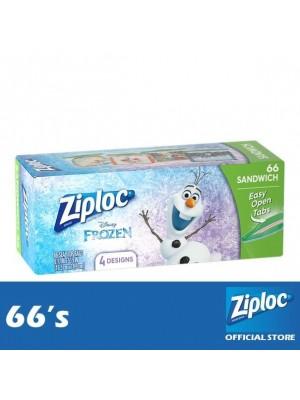 Ziploc Disney Frozen Sandwich 66's