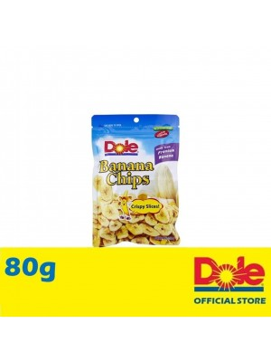 Dole Banana Chips in Pillow Pouch 80g