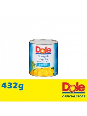 Dole Pineapple Chunks in Extra Light Syrup 432g