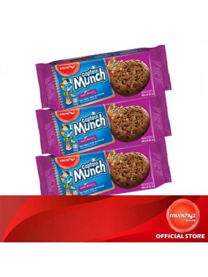 Munchy's Captain Munch Chocolate Chip Double Chocolate 3x180g