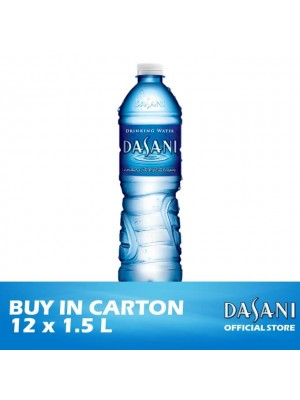 Dasani Drinking Water- PET 12 x 1.5L [Essential]