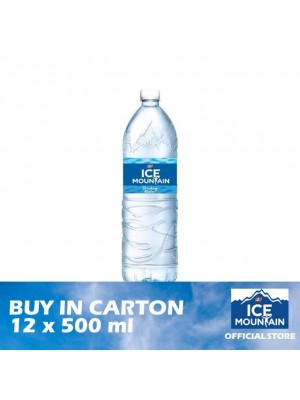 Ice Mountain Drinking Water 12 x 500ml