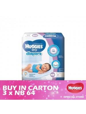 Huggies Dry Jumbo 3 x NB64