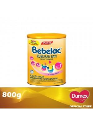 Dumex Bebelac 1 Infant Formula Milk Powder 0 – 12 Bulan 800g