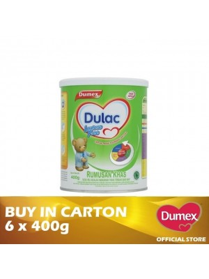 Dumex Dulac Lactose Free Milk Powder 6 x 400g
