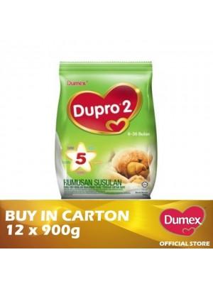 Dumex Dupro 2 Milk Powder 6 – 36 Bulan 12 x 900g