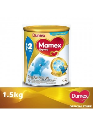Dumex Mamex Explore 2 Milk Powder 6 -36 Bulan 1.5kg