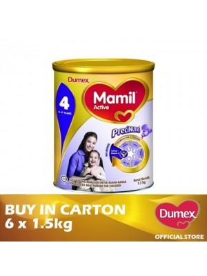 Dumex Mamil Active 4 Milk Powder 4 - 9 Tahun 6 x 1.5kg