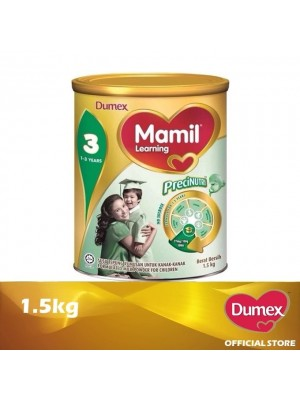 Dumex Mamil Learning 3 Milk Powder 1 - 3 Tahun 1.5kg
