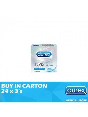 Durex Invisible Extra Sensitive 24 x 3's