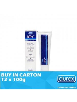 Durex K-Y Jelly Personal Lubricant 12 x 100g