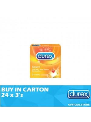 Durex Select 24 x 3's