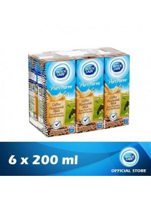 Dutch Lady UHT Pure Farm Coffee 6 x 200ml