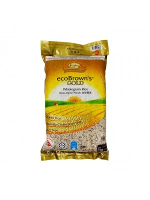 Ecobrown's Gold Wholegrain Rice 5kg [Essential]