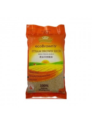 Ecobrown's Steam Brown Rice 5kg