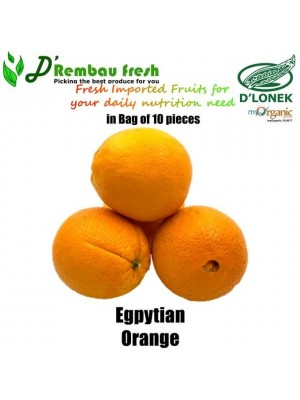 Imported Egyptian Orange