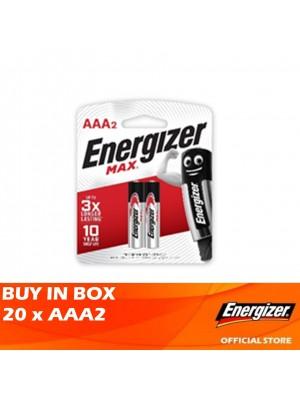 Energizer Max 20 x AAA2