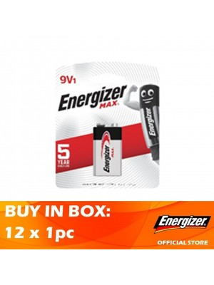 Energizer Max 9V 12 x 1pc