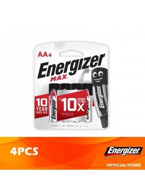 Energizer Max AA Alkaline Batteries 4pcs