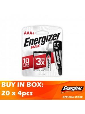 Energizer Max AAA 20 x 4pcs