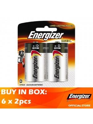 Energizer Max D 6 x 2pcs