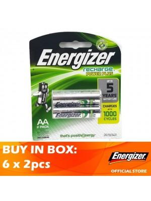 Energizer Recharge Power Plus AA 2000MAH 6 x 2pcs