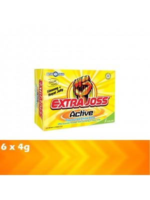 Extrajoss Active 6 x 4g (EXP : 10/2021) [MUST BUY]