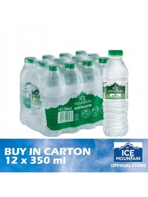 F&N Ice Mountain Mineral Water 12 x 350ml