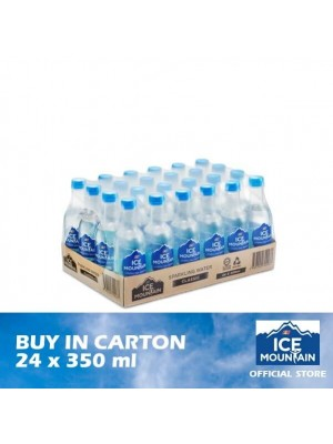 F&N Ice Mountain Sparkling Water Classic 24 x 350ml