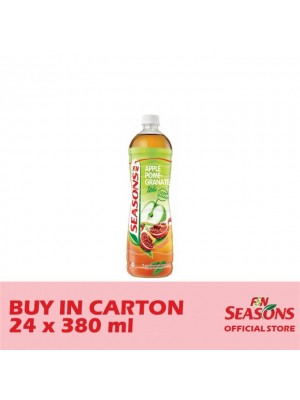 F&N Seasons Apple Pomegranate PET 24 x 380ml
