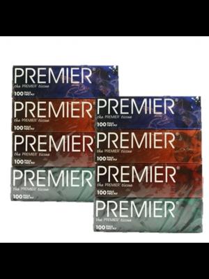 Premier Facial Tissue 2x4x100's