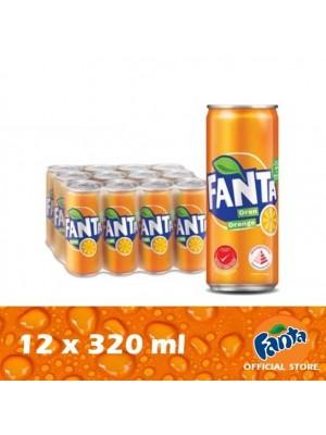 Fanta Orange 12 x 320ml [Essential]