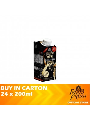 Farm Fresh UHT Cafe Latte Tongkat Ali Milk 24 x 200ml