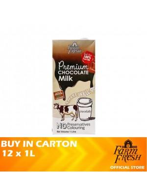 Farm Fresh UHT Chocolate Milk 12 x 1L