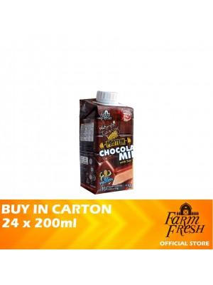 Farm Fresh UHT Chocolate Milk With Soy 24 x 200ml