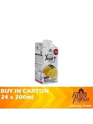 Farm Fresh UHT Mango Tango Yogurt Drink 24 x 200ml