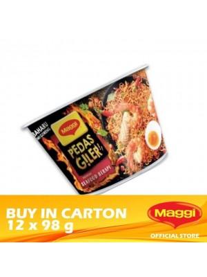 Maggi Pedas Giler Flaming Seafood 12 x 98g